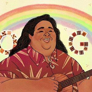 Israel Kamakawiwoʻole's (Bruddah Iz) - Somewhere Over the Rainbow / What a Wonderful World